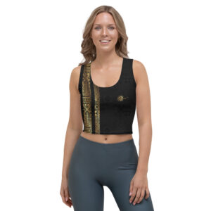 Crop-top Black – Ethnics Just Dance It – KIZOMBA