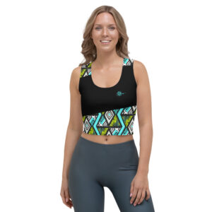 Crop-top Black – WAX RIVERS