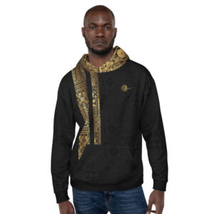 Sweat à Capuche Unisexe Black – Ethnics Just Dance It – KIZOMBA