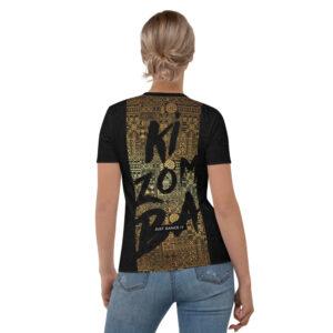 T-shirt pour Femme Black – Ethnics Just Dance It – KIZOMBA