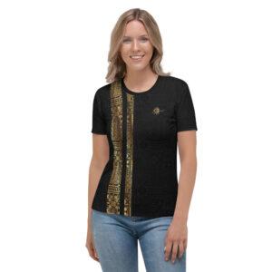 T-shirt pour Femme Black – Ethnics Just Dance It – BACHATA