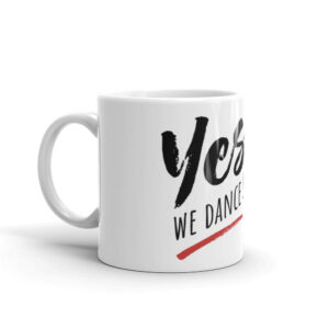 Mug Blanc Brillant – YES, WE DANCE!