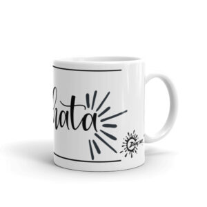 Mug Blanc Brillant – <3 Bachata