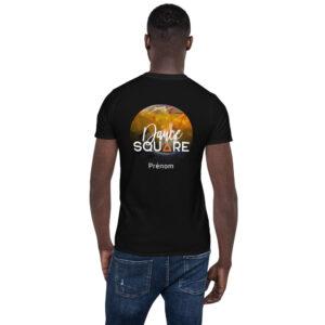 T-shirt Unisexe Black – Dance Square – Personalisable