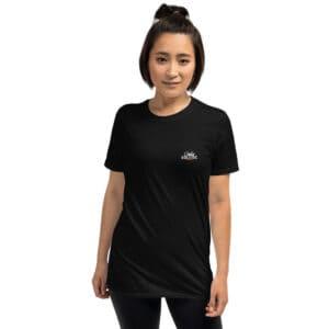 T-shirt Unisexe Black – Dance Square au dos